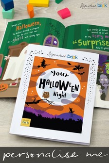 Personalised Halloween Book by Signature Book Publishing