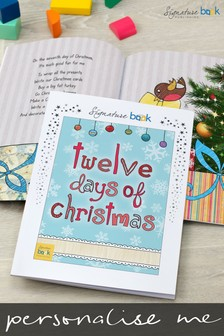 Personalised 12 Days of Christmas Book by Signature Book Publishing