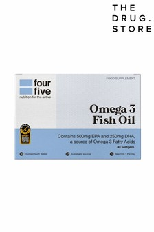 FourFive Nutrition Omega 3 Fish Oil 30 Capsules