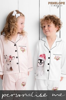 Personalised Children's Christmas PJs by Penelope May