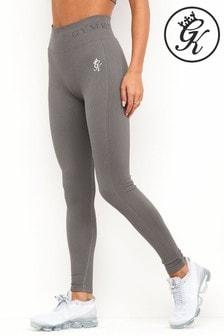 Gym King Grey Seamless Rib Legging