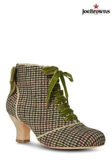 Joe Browns Green Very Tempting Tweedy Boots