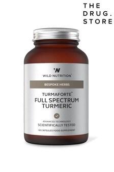 Wild Nutrition Turmaforte Full Spectrum Turmeric Jar 60 Capsules