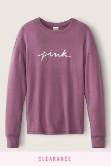 Victoria's Secret PINK Cozy Long Sleeve Sleep Tee