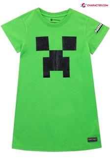 Character Green Minecraft Nightdress
