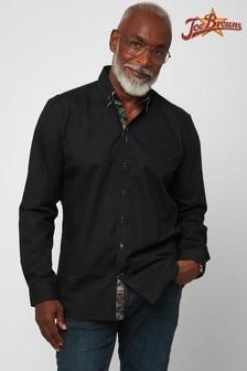Joe Browns Black Delectable Double Collar Shirt