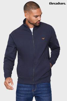 Threadbare Blue Zip Through Fleece