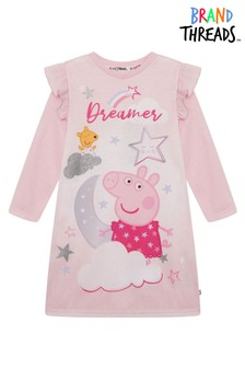 Brand Threads Pink Peppa Pig Girls Nightie