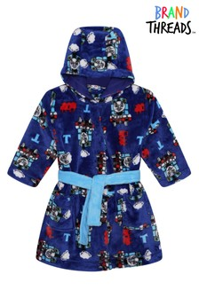 Brand Threads Blue Thomas & Friends Boys Robe