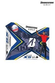 Bridgestone Golf White Tour B Xs Tiger Woods Edition 12 Ball Pack