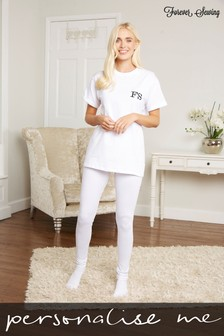 Personalised T-Shirt Lounge Set by Forever Sewing