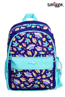 Smiggle Dark Purple Hooray Junior Backpack