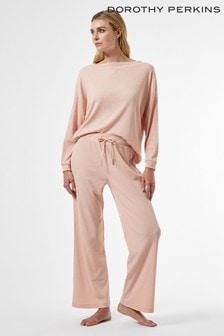 Dorothy Perkins Pink Soft Jersey Long Sleeve Twosie