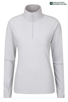 Mountain Warehouse White Camber Womens Half-Zip Fleece