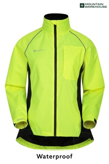 Mountain Warehouse Yellow Adrenaline Womens Waterproof Iso-Viz Jacket