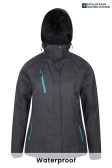 Mountain Warehouse Black Bracken Extreme Womens 3 In 1 Waterproof Jacket