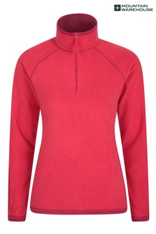 Mountain Warehouse Red Montana Womens Microfleece