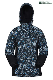 Mountain Warehouse Black Dawn Womens Printed Ski Jacket