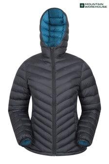 Mountain Warehouse Jet Black Seasons Womens Padded Jacket