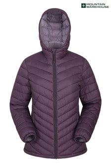 Mountain Warehouse Purple Seasons Womens Padded Jacket