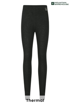 Mountain Warehouse Black Merino Womens Pants