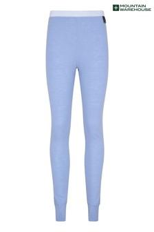 Mountain Warehouse Blue Merino Womens Pants