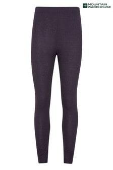 Mountain Warehouse Black Talus Womens Base Layer Pants