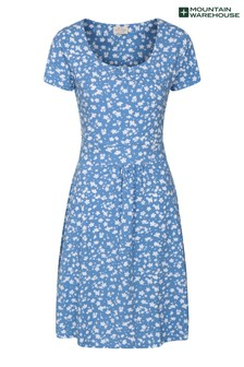 Mountain Warehouse Blue Orchid Patterned Womens Uv Dress