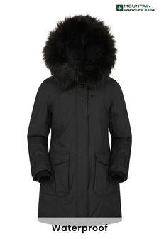 Mountain Warehouse Black Aurora Womens Down Jacket