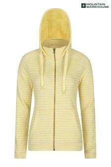 Mountain Warehouse Yellow Woolamai Womens Full-Zip Hoodie