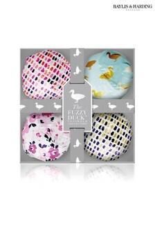 Baylis & Harding Fuzzy Duck Cotswold Floral 4 Bath Fizzers Set