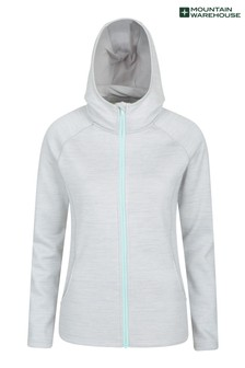 Mountain Warehouse Grey Isocool Dynamic Chakra Womens Hoodie