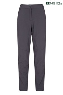 Mountain Warehouse Black Sierra Extreme Womens Slim Fit Recco Ski Pants