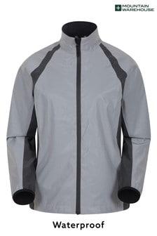Mountain Warehouse Silver Shine 360° Reflective Womens Waterproof Jacket