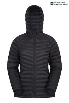 Mountain Warehouse Black Skyline Womens Hydrophobic Down Jacket