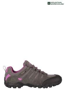 Mountain Warehouse Grey Belfour Womens Outdoor Walking Shoes