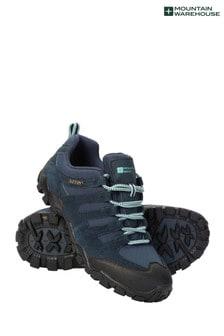 Mountain Warehouse Navy Belfour Womens Outdoor Walking Shoes