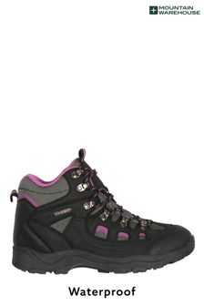 Mountain Warehouse Black Adventurer Womens Waterproof Boots