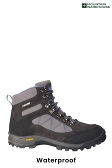 Mountain Warehouse Grey Storm Womens Waterproof Isogrip Boots