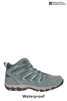 Mountain Warehouse Green Aspect Womens Waterproof Isogrip Boots