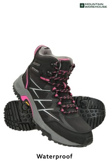 Mountain Warehouse Black Byzantine Waterproof Vibram Womens Boots