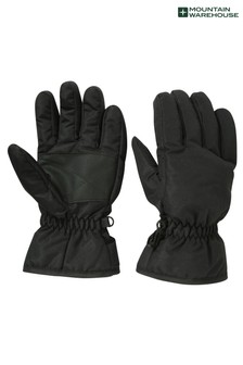 Mountain Warehouse Black Kids Ski Gloves