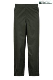 Mountain Warehouse Khaki Pakka Kids Waterproof Over Trousers