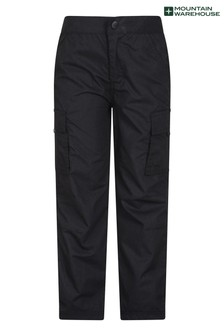 Mountain Warehouse Black Active Kids Trousers