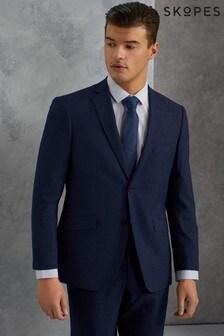 Skopes Navy Harcourt Textured Weave Blazer