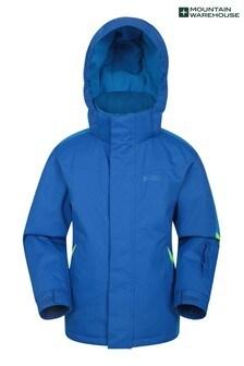Mountain Warehouse Blue Print Raptor Kids Snow Jacket