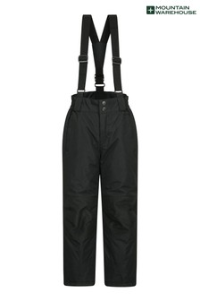 Mountain Warehouse Black Raptor Kids Snow Pants
