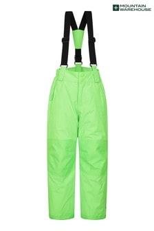 Mountain Warehouse Lime Green Raptor Kids Snow Pants