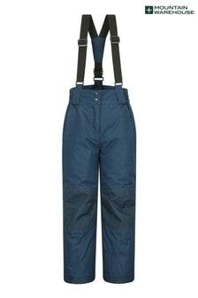 Mountain Warehouse Blue Raptor Kids Snow Pants