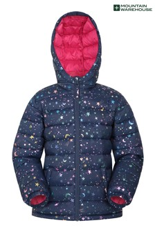 Mountain Warehouse Pink Seasons Kids Water Resistant Padded Jacket
